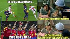 Barcelona es protagonista de los memes tras derrotar al Alavés