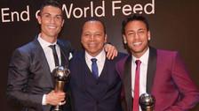 """Neymar: """"Cristiano Ronaldo es el espejo en el que me miro"""""""