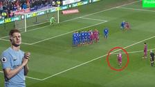 El ingenioso gol de tiro libre de Kevin de Bruyne con Manchester City