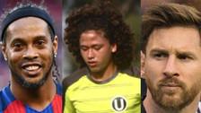 Video | Paulo de la Cruz reveló que trata de imitar a Messi y Ronaldinho