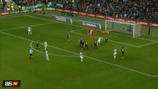 Jugador del Celtic falló un increíble gol cuando estaba solo frente al arco