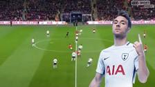 Así fue el gol de Tottenham a Manchester United a los 10 segundos