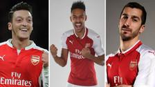 El posible once de Arsenal con la llegada de Pierre Aubameyang