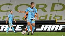 Christian Benavente se lució con una asistencia en el empate del Charleroi