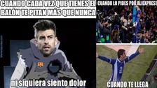 Barcelona es protagonista de los memes tras empatar contra Espanyol