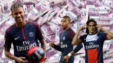 Se filtró millonario sueldo de Neymar: cobra igual que Mbappé y Cavani juntos