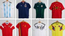 Las 10 camisetas más lindas de Rusia 2018: ¿En qué puesto está Perú?