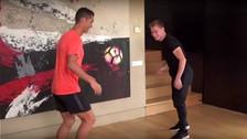 ¿Cómo le fue a Cristiano Ronaldo ante el mejor freestyler del mundo?