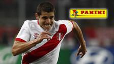 Selección Peruana: Aldo Corzo enseñó su card de Panini