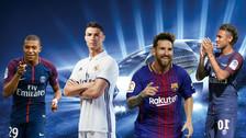 Los 10 jugadores más caros de los octavos de final de Champions League
