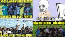 Alianza Lima ganó a Ayacucho FC, pero no se salvó de los memes