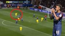 El doble regate y la definición de Neymar en el triunfo de PSG