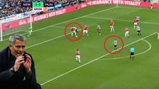 El magnífico gol de Newcastle en el triunfo ante Manchester United