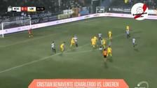 YouTube | Cristian Benavente se llevó a tres jugadores y casi anota un golazo