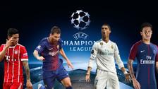 Programación de los octavos de final de la Champions League