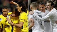 Real Madrid vs. PSG: ¿Qué equipo tiene el tridente más caro?