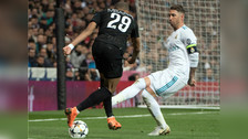 La fallida rabona de Kylian Mbappé en el PSG vs. Real Madrid