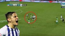Hohberg anotó un golazo ante Colo Colo tras magistral 'huacha'