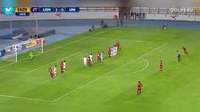 Universitario vs. San Martín: Juan Vargas anotó golazo de tiro libre