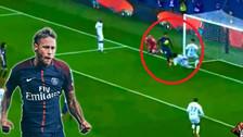 Neymar y su último lujo: eludió a 4 rivales y anotó un golazo con PSG