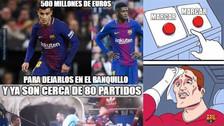 Barcelona venció 2-0 a Eibar, pero no se salvó de los memes