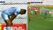 El 'blooper' del Torneo de Verano: Mayora se perdió un gol solo ante Melgar