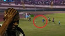 Wilmer Aguirre protagonizó un increíble blooper ante Sport Boys