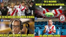 Hinchas homenajearon a Daniel Peredo con los memes