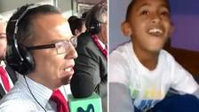 Jefferson Farfán recordó al niño que imitaba a Daniel Peredo