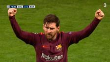 Lionel Messi acabó con su mala racha ante Chelsea con este golazo