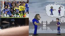 Los mejores memes de la previa al duelo entre Barcelona y Chelsea