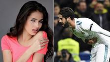 Isco y su novia desatan la furia de los hinchas del Atlético de Madrid