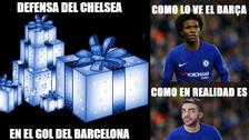 Chelsea vs. Barcelona: los 10 mejores memes del partido por Champions