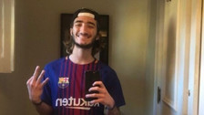 Hijo de José Mourinho vuelve a demostrar su hinchaje por Lionel Messi