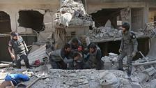 Guta Oriental, el enclave rebelde sirio devastado por los bombardeos