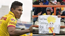 Raúl Ruidíaz encontró a hincha que le dedicó pancarta con dibujo de Gokú