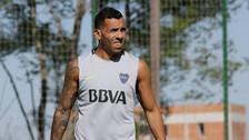 Carlos Tévez se lesionó en Boca Juniors y es duda para enfrentar a Alianza Lima
