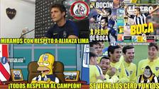 Los memes calientan la previa al duelo entre Boca Juniors y Alianza Lima