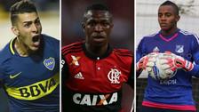 Los 10 jugadores jóvenes que tienes que seguir en la Copa Libertadores
