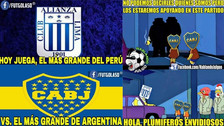 Los mejores memes en la previa al duelo entre Alianza Lima y Boca Juniors