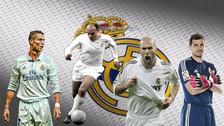 Este es el mejor once de la historia de Real Madrid