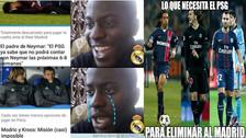 Los mejores memes en la previa al duelo entre PSG y Real Madrid