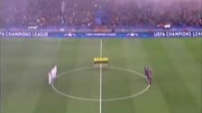 El emotivo minuto de silencio para Davide Astori en la Champions League