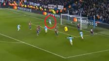 La gran jugada del Manchester City que terminó en gol de Gabriel Jesús