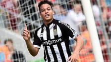 Cristian Benavente fue elegido como el jugador del mes en Sporting Charleroi
