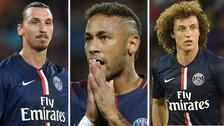 Los jugadores que llegaron al PSG para ganar la Champions y fracasaron