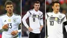 Las 8 estrellas de Alemania que jugarán contra la Selección Peruana