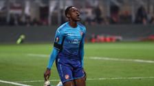 Danny Welbeck y su vergonzoso remate ante el Milan