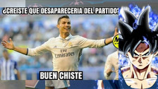 Cristiano Ronaldo en la mira de los memes tras el triunfo de Real Madrid