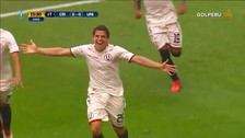 Ahí, de goleador: Aldo Corzo anotó de cabeza ante Sporting Cristal